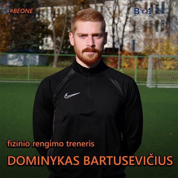 trenerių pristatymas dominykas bartusevičius
